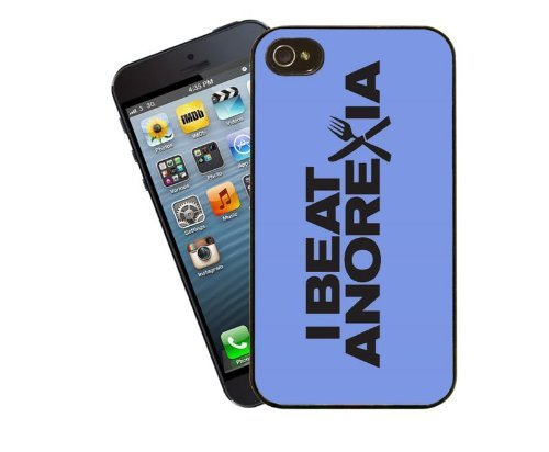Eclipse Geschenk Ideen I Beat Anorexia–Blau Iphone 5/5S Schutzhülle