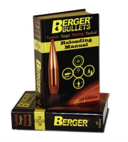 Berger Bullets Reloading Manual 1st -