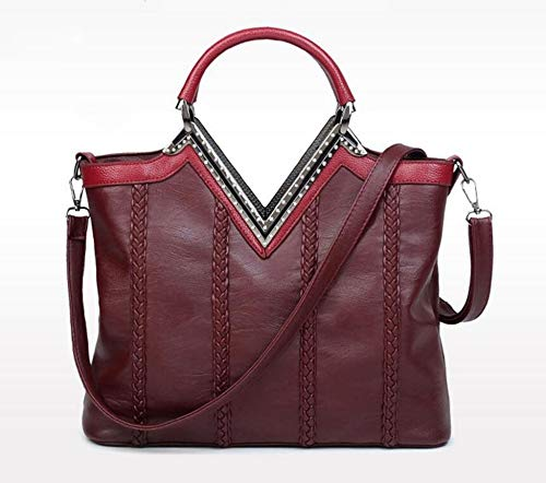 Diagonale Sac Pack B v Loisirs Unique à épaule tissé Main Mot Sxuefang Sac Femme Croix Ygnq8pH