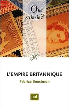 L'empire britannique QSJ 3984