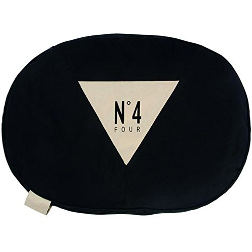Black Size S Black Size S Bobby Number Pillow, Small, Black