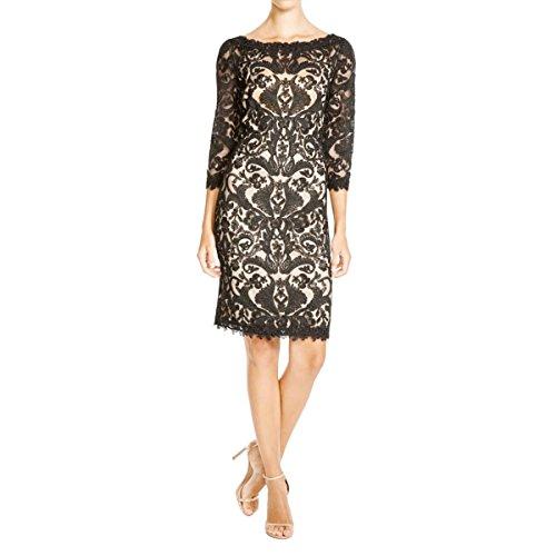 Buy black lace dress china - 4