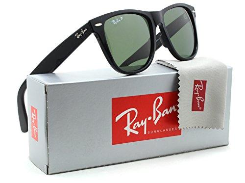 Ray-Ban RB2140 Original Wayfarer Classic Polarized Sunglasses Black 901/58 - 50mm
