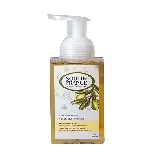 (Lemon Verbena - South of France Natural Body Care 8oz Foaming Hand Wash (3 Bottles))