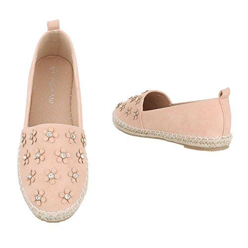 Low Pink Frauen Ital Top Antik Design SznwfU