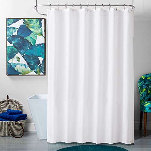 (TreeLen Shower Curtain Liner,Hotel Collection Eco-Friendly 10 Gauge PEVA 72