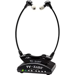 TV Ears Original TV Headset System - Wireless, Voice Clarifying, Doctor Recommended, 11641 - Version 5.0