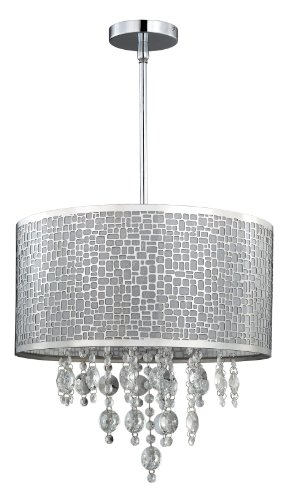 Canarm Ich394a04ch9 Benito 4 Lt Chandelier In Chrome