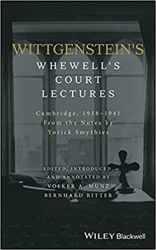Book Cover for Wittgenstein's Whewell's Court Lectures: Cambridge, 1938 - 1941