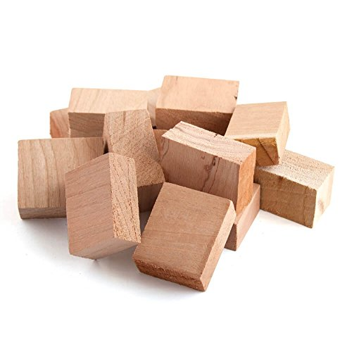 Wood Fire Grilling Co. Smoking Blocks - Cherry Wood Chunks for Smoking (10 pounds)