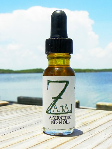 Pure Concentrated Ayurvedic Organic Neem Oil For Treating Acne. Psoriasis, Rosacea and More