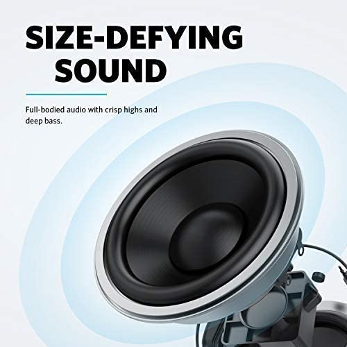 Anker Soundcore Mini 2 Pocket Bluetooth Speaker 2-Pack with 15-Hour Playtime, IPX7 Waterproof, Wireless Stereo Pairing, Outdoor Speaker with Ultra-Portable Design and Enhanced Bass [2-Pack]