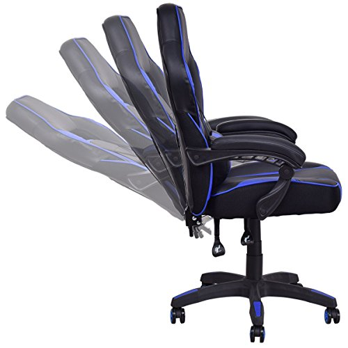 41foCcTUumL - Giantex-Gaming-Chair-Race-High-Back-Reclining-Chair-Office-Swivel-Computer-Task-Desk-Chair