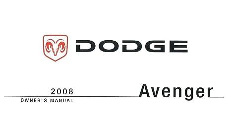 amazon com bishko automotive literature 2008 dodge avenger owners rh amazon com dodge avenger 2008 owners manual online dodge avenger 2008 owners manual online
