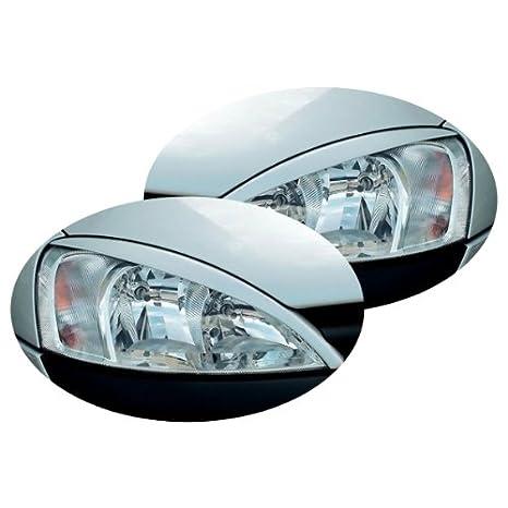 unsbl Corsac - Faro paneles Set böser Visión Adecuado para Opel Corsa C Bj: 08/00 - 06/06,: Amazon.es: Coche y moto