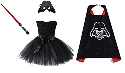 Dark Invader Costume Tutu Dress from Chunks of Charm (9 Dress) -