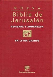 ffb5c693e3a Biblia De Jerusalen 4ª Man 3 Cremallera Biblia de Jerusalén  Amazon ...