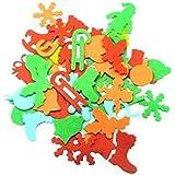 Sodertex - Adesivi feltro, motivo Natale, 150 pezzi