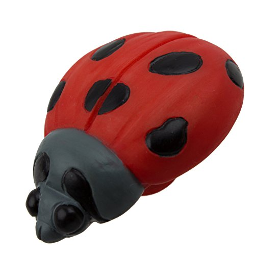 GlideRite Hardware 1080-LB-10 Lady Bug Hand-Painted Realistic Cabinet Knobs 10 ()