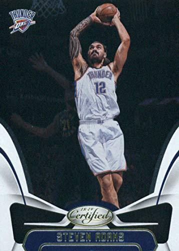 2018-19 Panini Certified #126 Steven Adams Oklahoma City Thunder Basketball Card