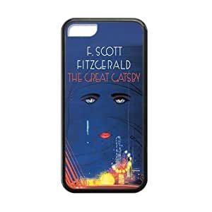 Generic Custom Phone case for Iphone 5C The Great Gatsby F. Scott Fitzgerald Pattern