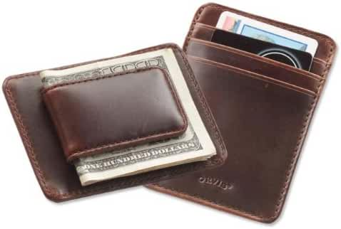 Orvis Heritage Leather Money Clip