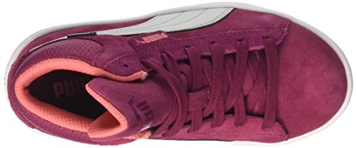 Puma Unisex-Kinder 1948 Mid GTX PS Hohe Sneaker Rot (Red Plum-Gray Violet)