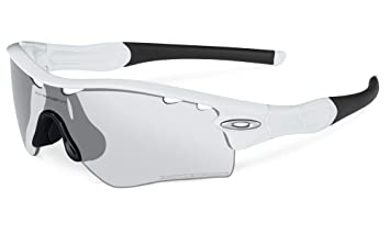 Oakley Radar Path Lunettes de Soleil Homme, Matte White Clear Black Iridium  Photo Vt 49ec199ff424