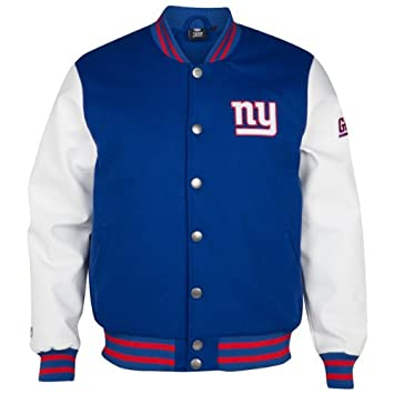 Majestic New York Giants Balfour Letterman NFL Jacke (XXL)  Amazon ... d3d207f1a