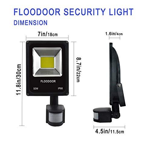Motion Sensor Safelight Spotlight US Plug LED Floodlight Stairwell Flood Light