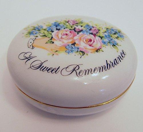 Vintage Avon 1982 Porcelain Trinket Box