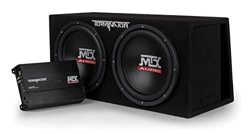 Subwoofers Enclosed (MTX Audio TNP212DV Dual 12