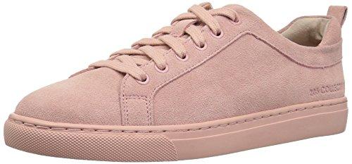Amazon Brand - 206 Collective Women's Lemolo Lace-Up Fashion Sneaker, Rose Suede, 9 B US