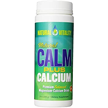 Natural Calm Plus Calcium - powder- Natural Vitality 8oz