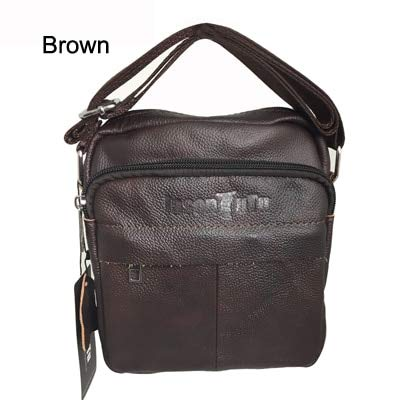 11bf14510203 Amazon.com: Genuine Leather Men Shoulder Bags Fashion Hot Male ...