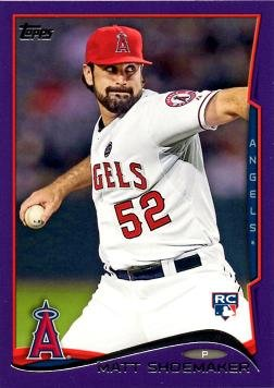 2014 Topps Toys R Us Purple 163 Matt Shoemaker Baseball
