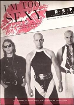 I'm Too Sexy R.S.F. Right Said Fred Sheet Music: R.S.F. Right Said ...