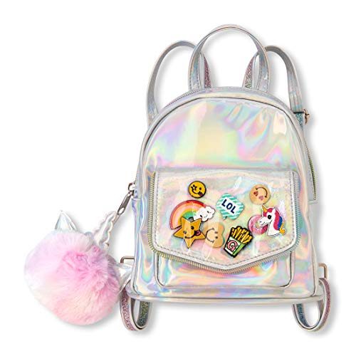 The Children's Place Big Girls' Novelty Iridescent Backpack, Multi CLR, NO Size -