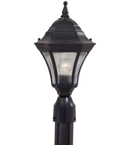 Minka Lavery Outdoor Post Lights 8206-94 Segovia Cast Aluminum Exterior Lighting Fixture, 100 Watts, Heritage