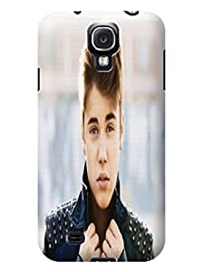Snap-on fashionable TPU Cool Justin Bieber Case compatible with SamSung Galaxy s4