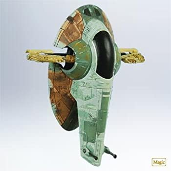 Hallmark Keepsake Ornament 2011 Star Wars Boba Fett's Starfighter Slave 1