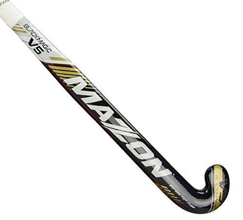Mazon Black Magic V5 Composite Field Hockey Stick (37.5 - Sticks Hockey Kevlar
