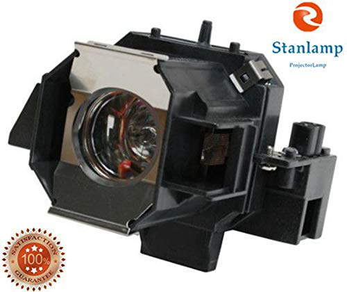ELP LP39/V13H010L39 Replacement Lamp Special Upgraded Design Bare Bulb Inside With Housing For EPSON ELPHC100 ELPHC200 EMP-TW1000 EMP-TW2000 EMP-TW700 Projector By Stanlamp by Stanlamp