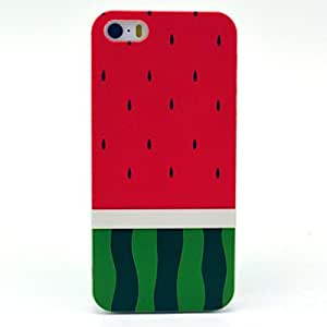 Jaholan Watermelon Fantasy Pattern Hard Plastic Case Skin Cover for iphone 5S