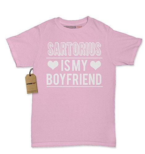 My Boyfriend T-Shirt Medium Light Pink (Boyfriend Light T-shirt)
