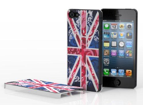 Master case - Coque iPhone 5 Drapeau UK - Rose