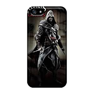 New Fashion Premium Tpu Cases Covers For Iphone 5/5s - Assassins Creed Rev