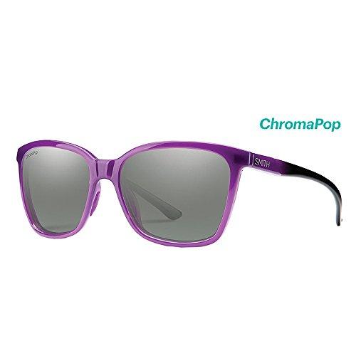 Smith Optics Adult Lifestyle Colette Sunglasses - Violet Spray/Platinum ()