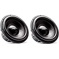 (2) Skar Audio EVL-15 D4 15 2500 Watt Max Power Dual 4 Ohm Car Subwoofer