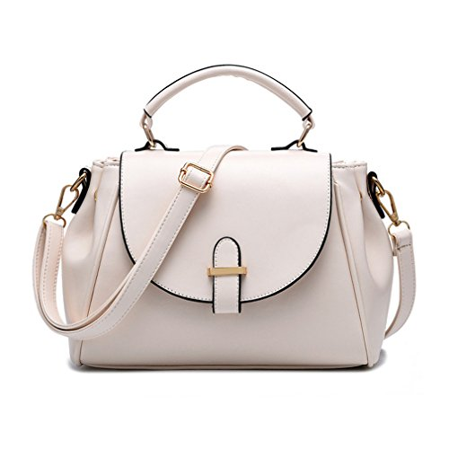 G&t New Korea Style Simple Fashion Pu Leather High-grade Handbag Shoulder Bag Messenger Bag For Women(c6)